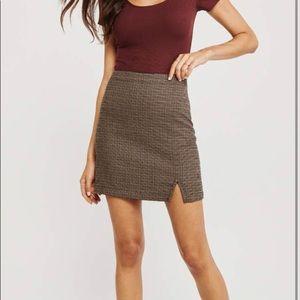 NWOT Abercrombie & Fitch XS plaid mini Skirt